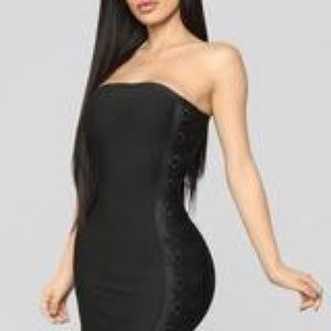 wrapped-up-bandage-dress-black